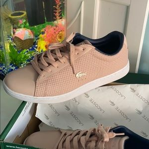 Lacoste Carnaby Weave Pink&Navy